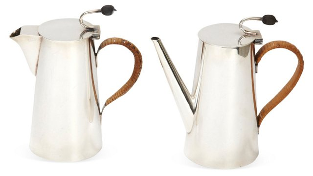 Asprey Coffee Set, 2 Pcs.