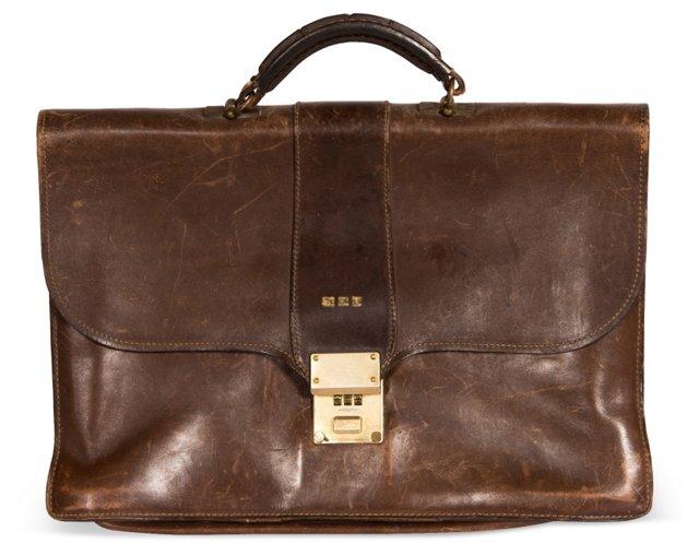 1950s Briefcase