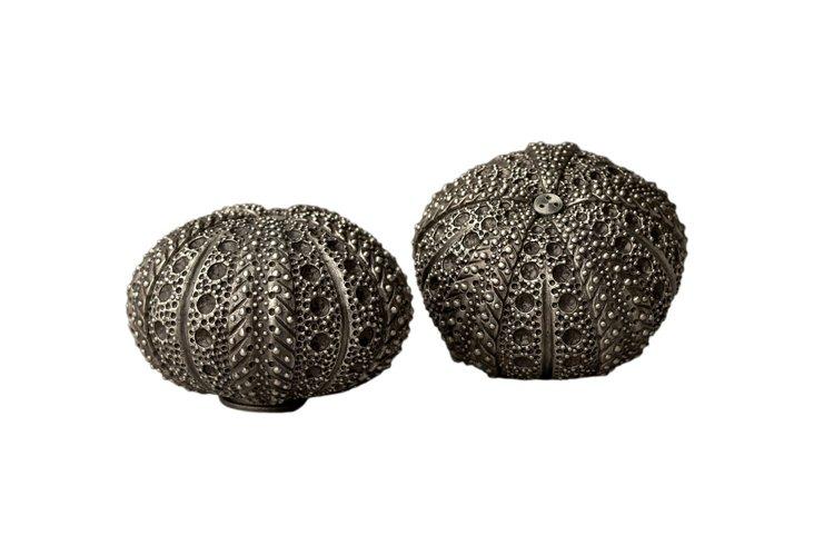Swarovski & Silver Urchin S&P Shakers