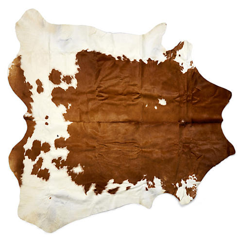 Lulu Hide, Brown/White
