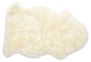 2'x3' Sheepskin Rug, Natural*