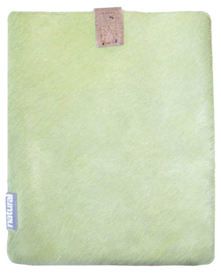 iPad Cowhide Case, Lime