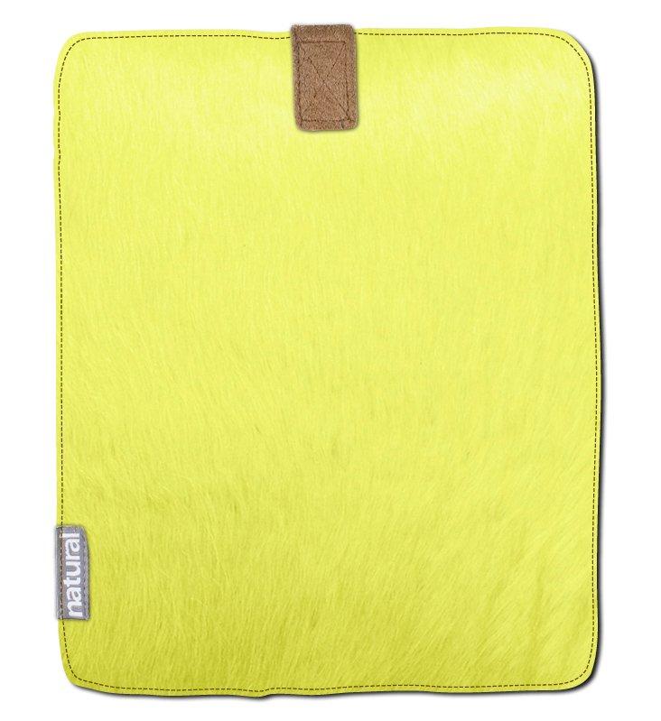 Cowhide iPad Case, Mustard