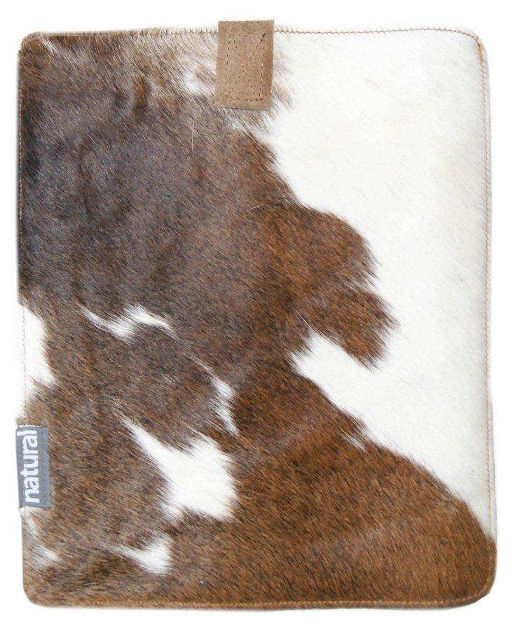 Cowhide iPad Case, Tricolore