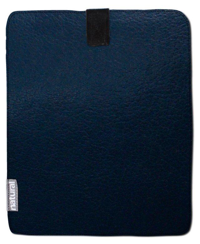 Leather iPad Case, Navy