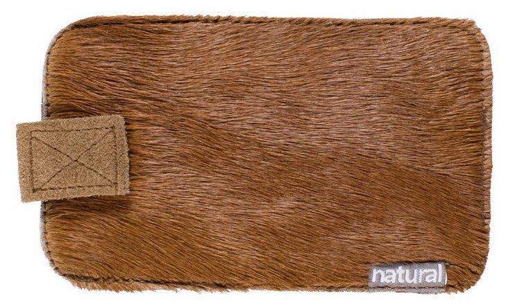iPhone Cowhide Case, Brown