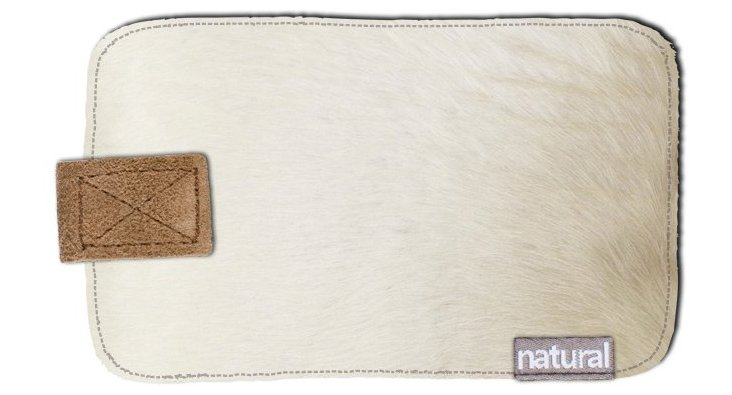 iPhone Cowhide Case, Natural