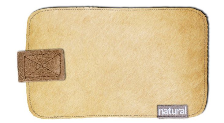 iPhone Cowhide Case, Tan