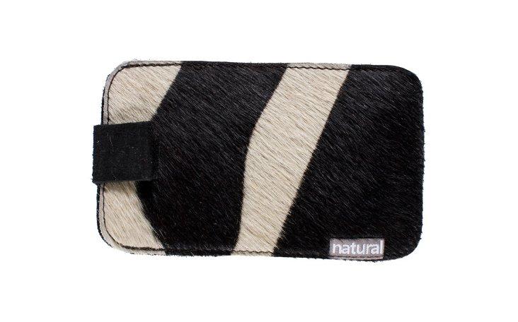 Cowhide iPhone Case, Zebra