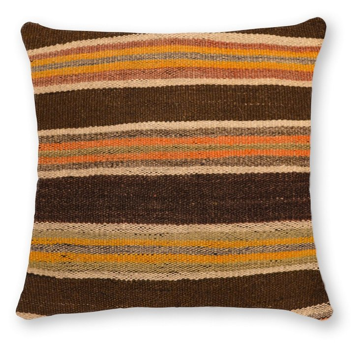 Ephesus 16x16 Wool Pillow, Multi