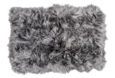 4'x6' Icelandic Long Haired Sheepskin
