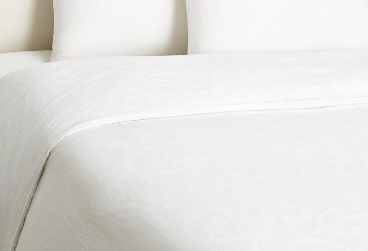 Dauphine Duvet, White