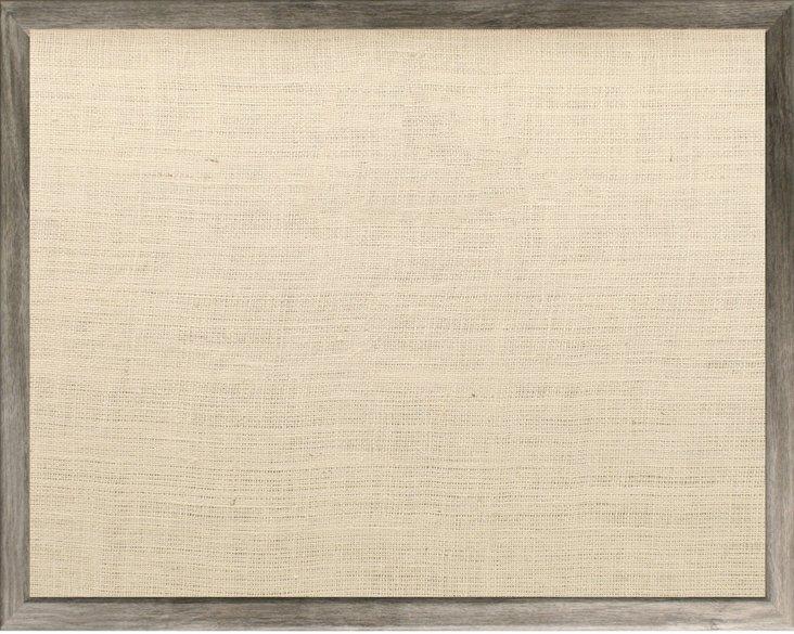 Barnwood Bulletin Board, Gray/Oyster
