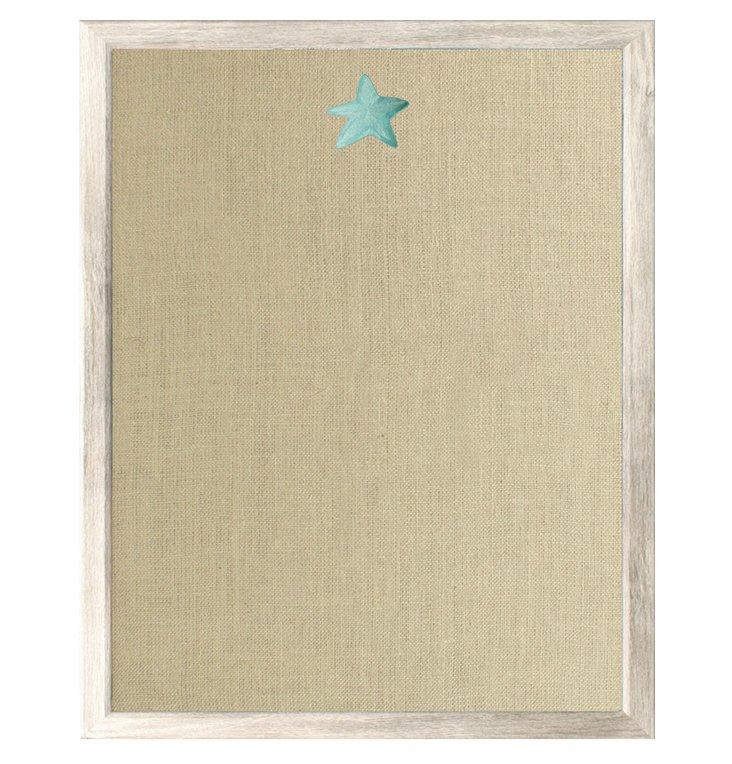 Starfish Bulletin Board, Blue