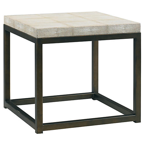 Martin Shagreen Side Table