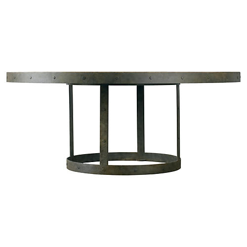 Grant Round Iron Dining Table