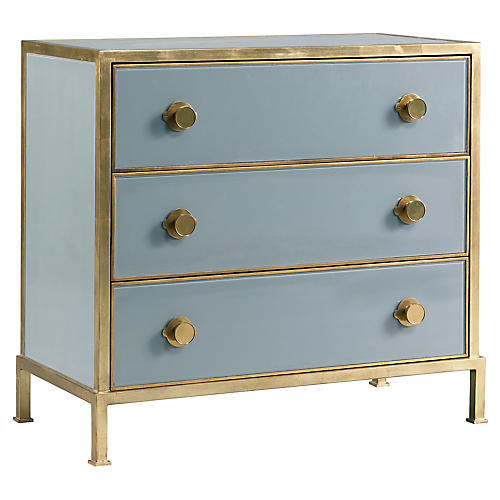Essex Dresser, Light Blue