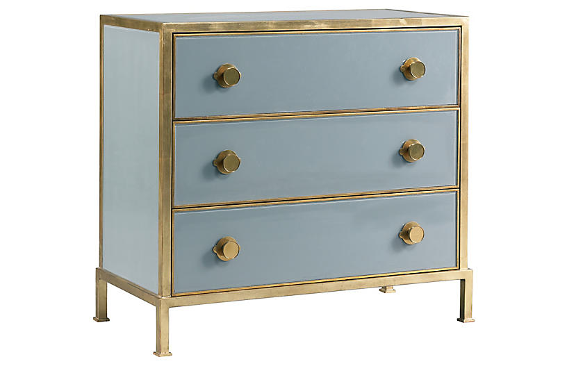 Essex Dresser, Light Blue
