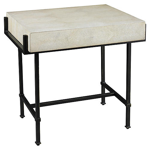 Simone Side Table, Taupe