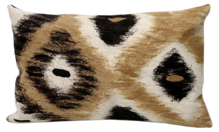 Set of 2 Native 12x20 Pillows, Black