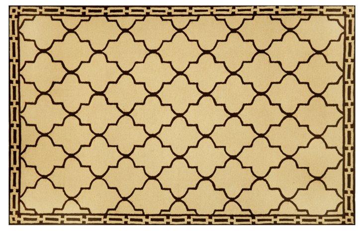 Clay Tile Rug, Wheat