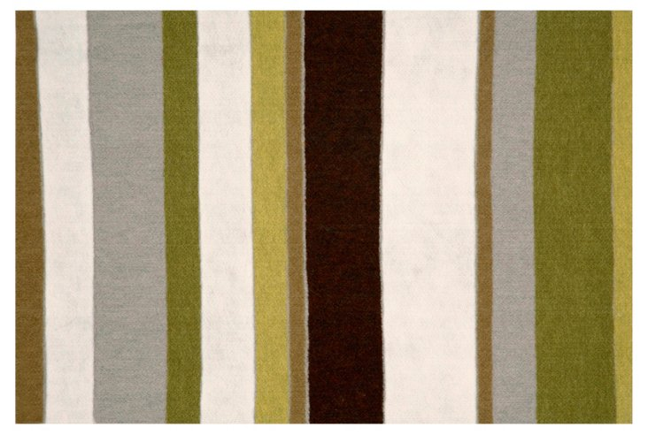 Marston Outdoor Rug, Olive/Multi