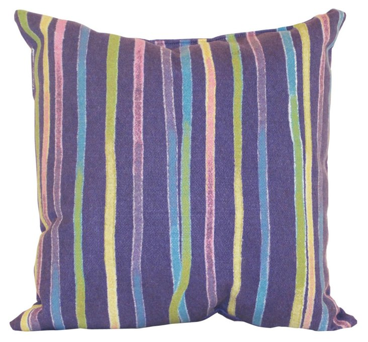 Set of 2 Ombre 18x18 Pillows, Pastel