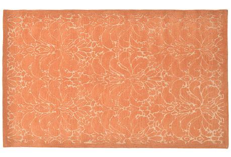 Rajal Rug, Orange