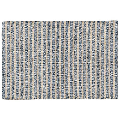 Eshan Outdoor Rug, Blue