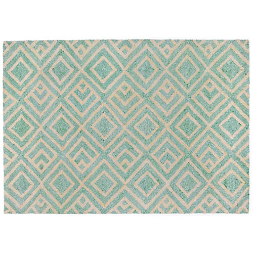 Ira Outdoor Rug, Blue