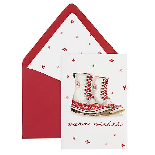 S/8 Warm Wishes Note Cards