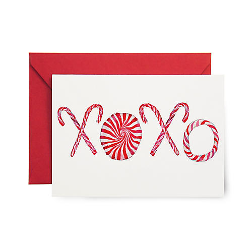 S/8 XOXO Note Cards
