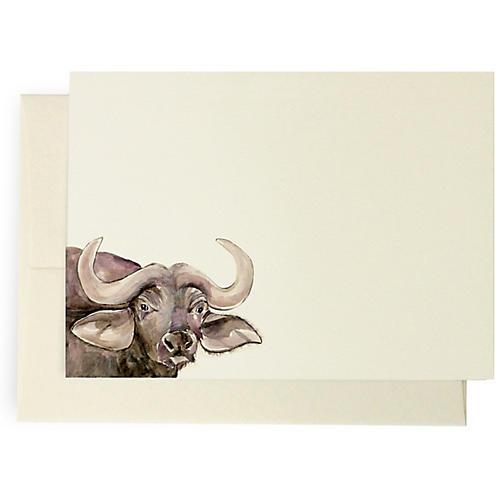 S/10 Buffalo Note Cards