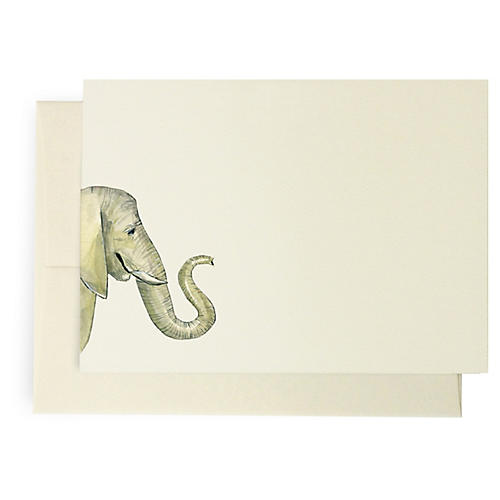S/10 Elephant Note Cards