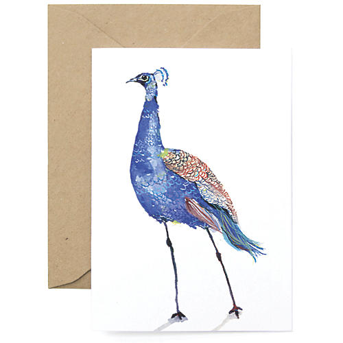 S/8 Peacock Cards