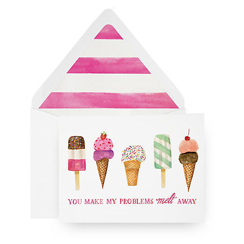 S/8 Melt Away Greeting Cards