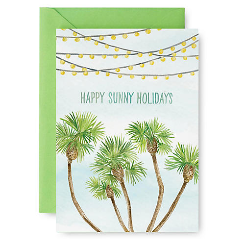 S/8 Sunny Holidays Note Cards