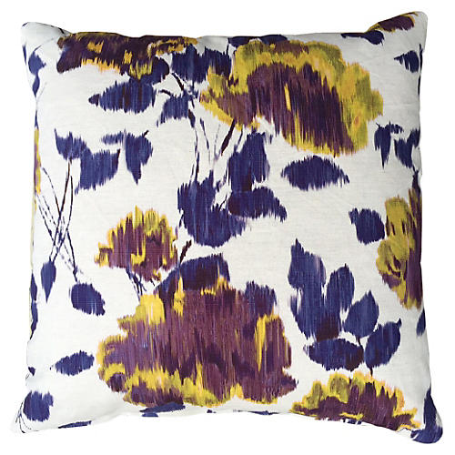 Fiore 20x20 Cotton Pillow, Multi