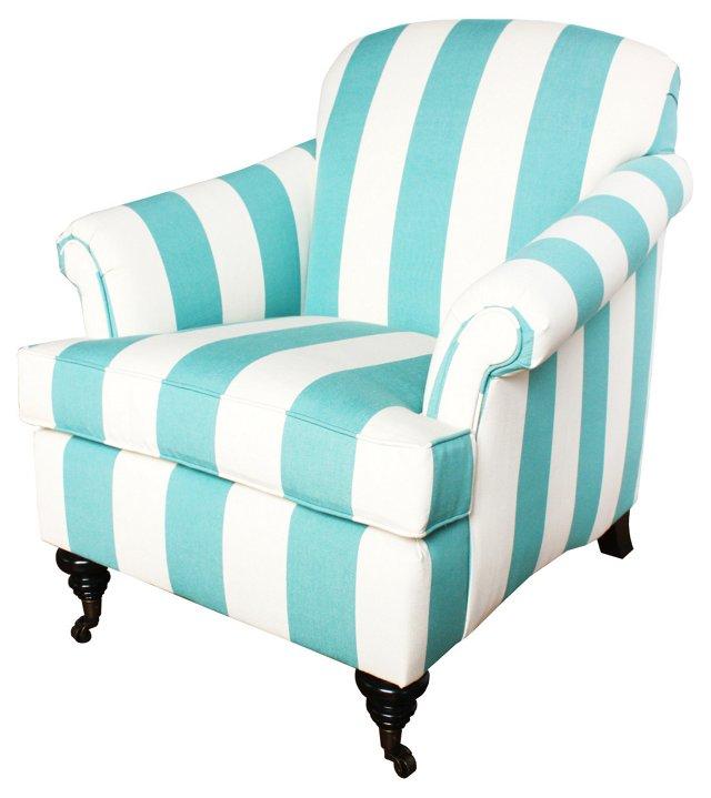 Joplin Chair, Aqua