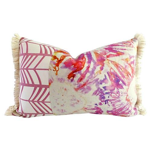 Stacie 16x24 Linen Pillow, Multi