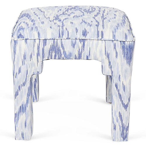 Hicks Stool, Periwinkle