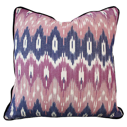 Southwest 20x20 Cotton Pillow, Pink
