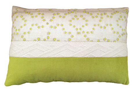 Aurora 16x24 Pillow, Yellow