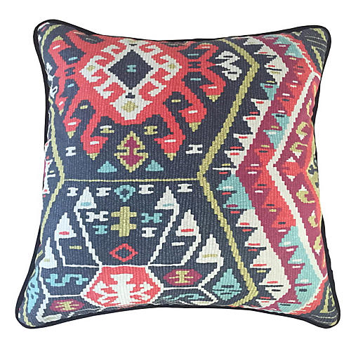 Suna Fiesta 20x20 Pillow, Multi