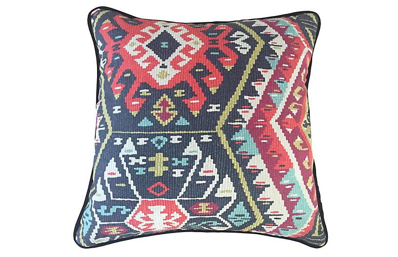 Suna Fiesta 20x20 Pillow, Multi