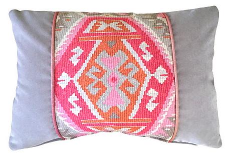 Suna 14x20 Pillow, Pink