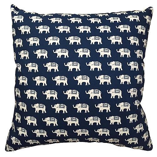 Taavi 20x20 Pillow, Indigo