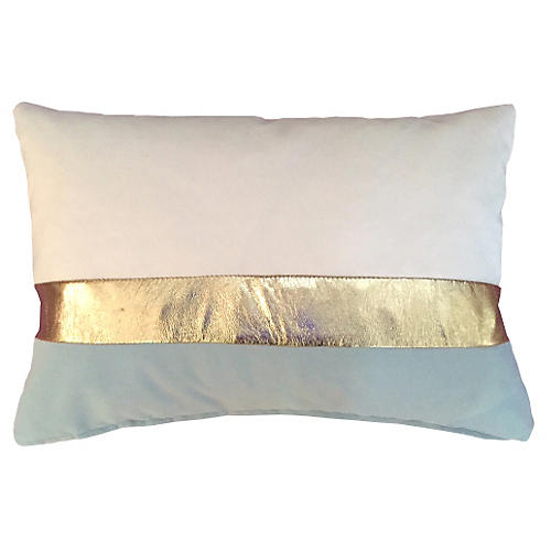 Kimberly 14x20 Pillow, Gold