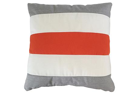 Darcy Outdoor Pillow, Orange