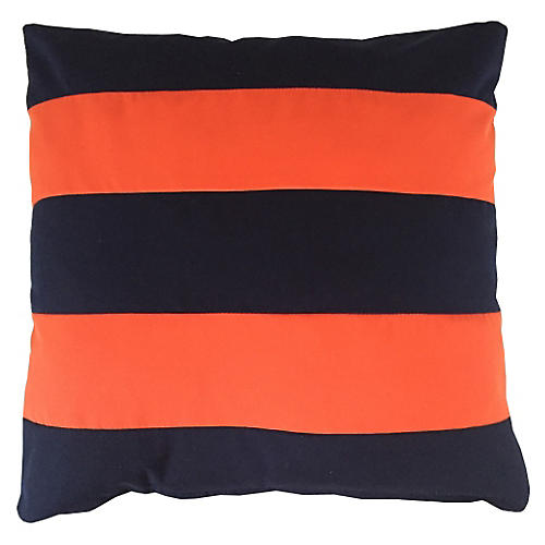 Darcy Outdoor Pillow, Orange Sunbrella